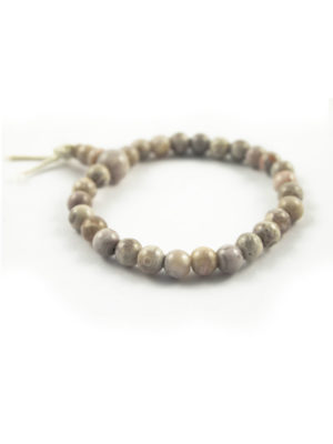 Grey Agate Bracelet (6mm) 2