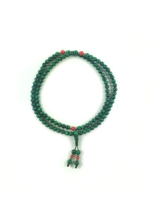 Malachite Mala 108 Beads (6mm) 1