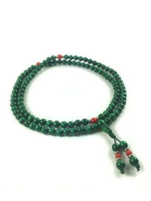 Malachite Mala 108 Beads (6mm) 2