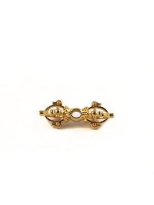 Mini Gold Vajra Charm 2