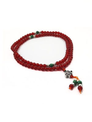 Red Agate Mala 108 Beads (6mm) 2