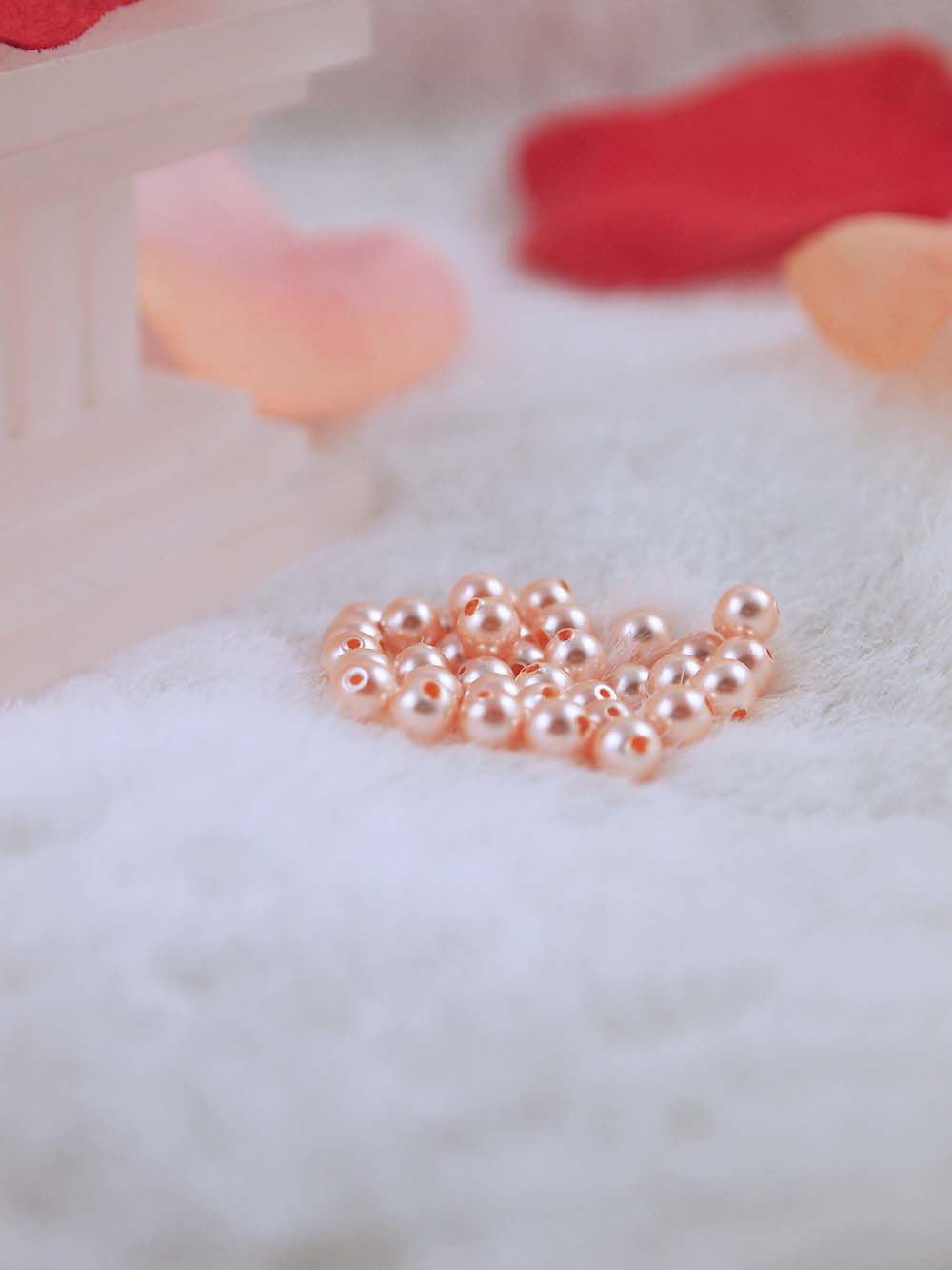 freshwater front and fresh white product rounded pearls water lilac peach pearl coloured natural v bracelet