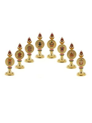 Gold-plated-Coloured-Eight-Auspicious-Symbols