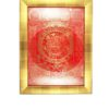 Nine-Palace-Ba-Gua-with-Red-Background-Gold-Frame-1