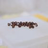 Swarovski Beads 5328 3mm Smoked Topaz Satin