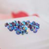 Swarovski Beads 5328 4mm Smoked Topaz AB 2X