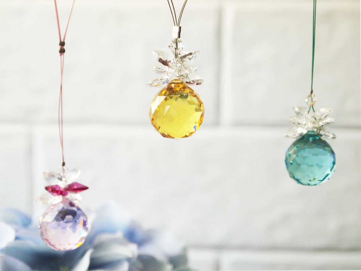 Swarovski Crystal Ball Suncatchers