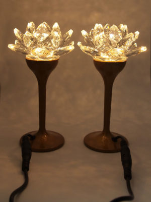Crystal-Lotus-Lamp-18.5cm-8