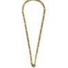 Gold-and-Silver-Stainless-Steel-Chain-One-Hook-Amulet-Necklace-1-67cm-1