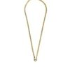 Gold-and-Silver-Stainless-Steel-Chain-One-Hook-Amulet-Necklace-2-62cm-1