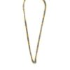 Gold-and-Silver-Stainless-Steel-Chain-One-Hook-Amulet-Necklace-2-69cm-1