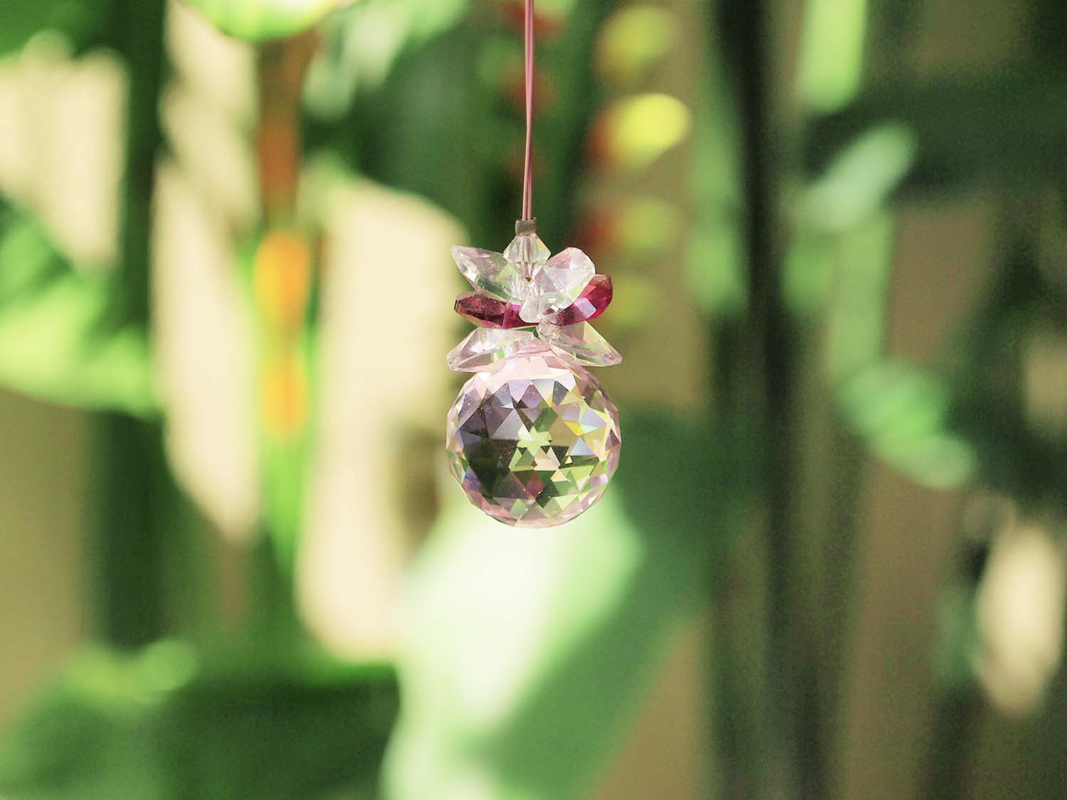 Swarovski Crystal Ball Pink