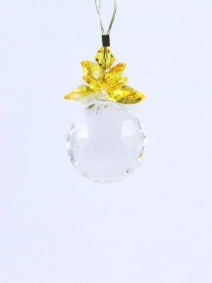 Swarovski-Crystal-Ball-Suncatcher-30mm-with-Light-Topaz-Hearts-1