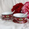 Blissful Marriage Red Bowl Set 1