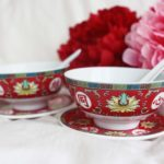 Blissful Marriage Red Bowl Set 2