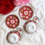 Blissful Marriage Red Bowl Set 3
