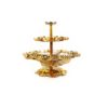 Fifteen Candles Lotus Holder Stand in Gold 1