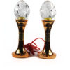 Plastic Clear Crystal Lotus Bud Lamp 1