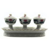 White Lotus Three Offering Cup Set 1