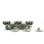White Lotus Three Offering Cup Set 4