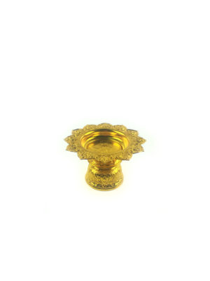 Gold Aluminum Offering Plate (12cm) 2