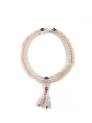 Rose Quartz Mala 108 Beads (6mm) 1