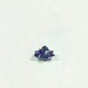 Handmade Swarovski Crystal Lotus (2.8cm) in Tanzanite AB 1