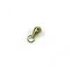 Gold-plated Stainless Steel Beading Pendant Hook (1.8cm) 1