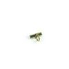 Gold-plated Stainless Steel Cylinder Beading Pendant Hook (1.6cm) 1