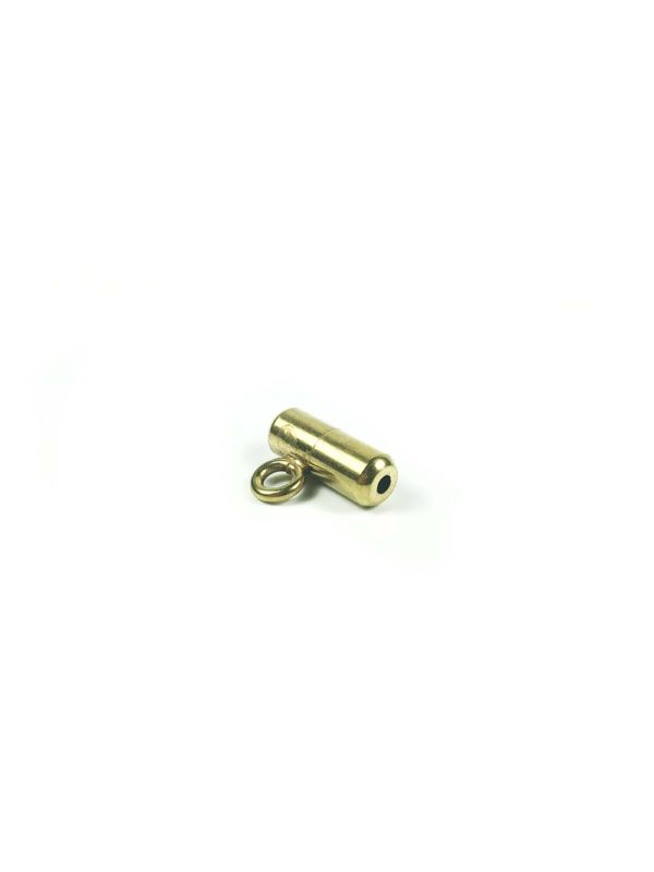Gold-plated Stainless Steel Screw Clasp with Hook 3