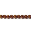 Six-syllables Mantra Red Agate 10mm