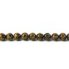Six-syllables Mantra Yellow Tiger Eye 10mm