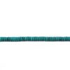 Turquoise 6x3mm Flat Beads