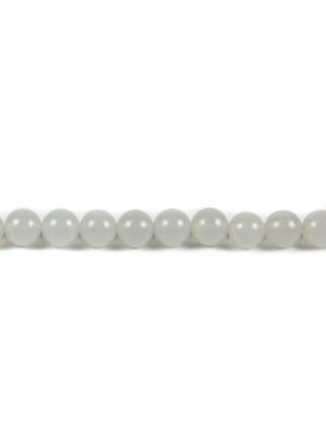 White Agate 10mm Beads