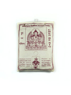 Chen Re Sig Himalayan Buddhist Incense Powder