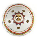 Eight Auspicious Symbols Porcelain Incense Burner with Lid 4