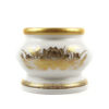 Gold Lotus Porcelain Incense Burner 1