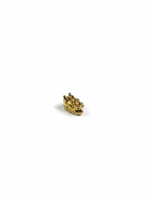 Gold-plated Dragon Head (Small) 2