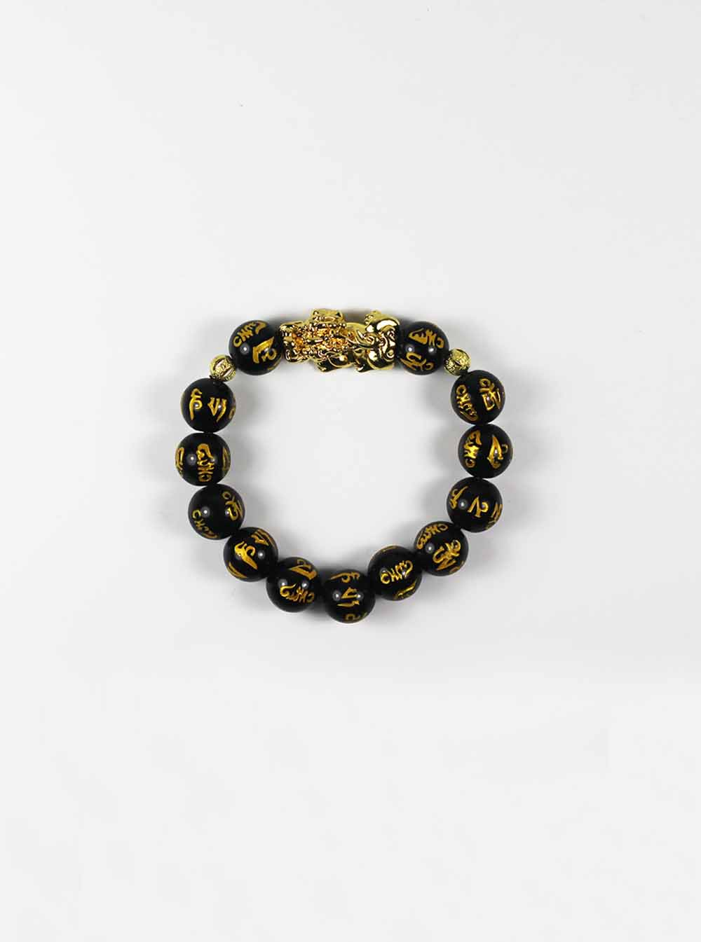 matte jewellery charm for bracelets beads matt natural onyx tiger stone men online lucky leopard product black