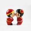 Chinese Wedding Dolls (Kissing) 1