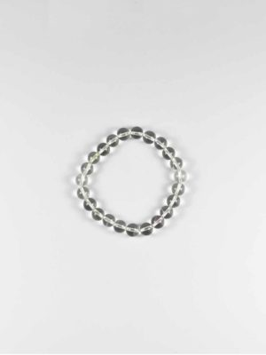 Clear Crystal Quartz Bracelet (8mm) 1