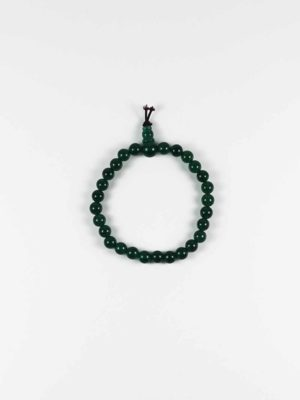 Green Agate Bracelet (6mm) 1