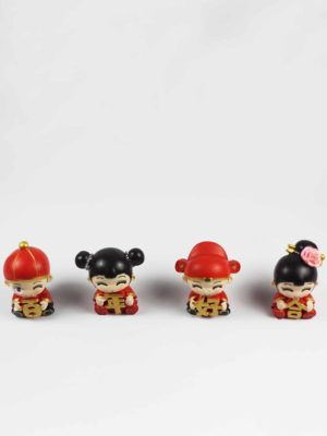 Mini Chinese Wedding Dolls (Bai Nian Hao He) 2