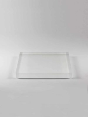 Acrylic Square Stand (15cm) 1