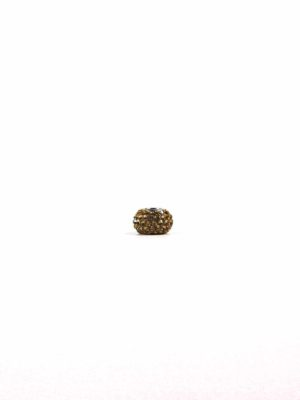 Brown Crystal Spacer Charm Bead 1