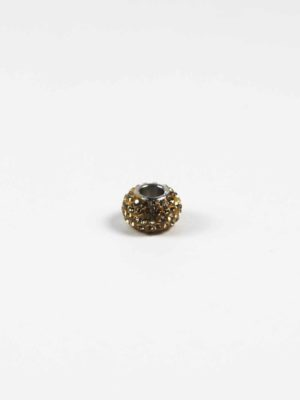 Brown Crystal Spacer Charm Bead 2