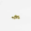 Gold-plated Carved Round Beads (6mm) 1