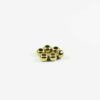 Gold-plated Drum-shaped Beads (8mm) 1