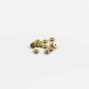 Gold-plated Flat Beads (6mm) 1