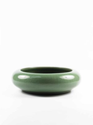 Green Ceramic Incense Burner 1